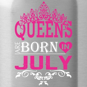 Queens Are Born In July - Water Bottle