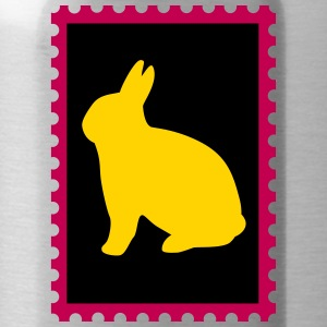 stamp with bunny - Water Bottle