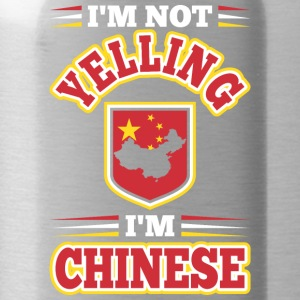 Im Not Yelling Im Chinese - Water Bottle