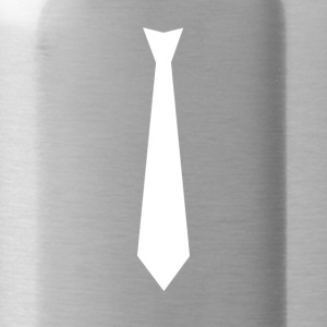 White Tie Suit - Water Bottle