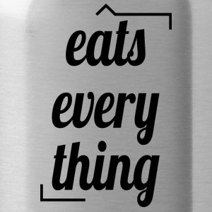 Eats everything - Water Bottle