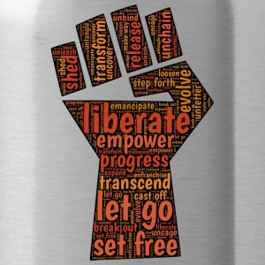 Liberate - Fist - Water Bottle