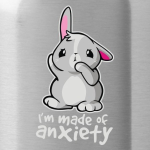 Rabbit Anxiety Cyber System - Water Bottle
