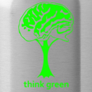 I Think Green - Water Bottle