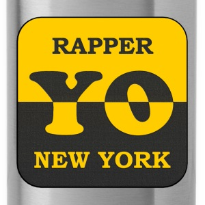 rapper new york - Water Bottle