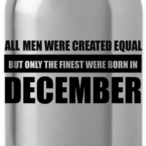 All men were created equal December designs - Water Bottle