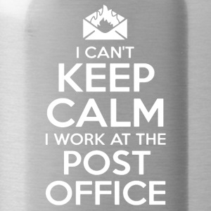 KEEP CALM POST OFFICE SHIRT - Water Bottle