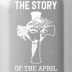 The Story Of The April Jesus Good Friday - Water Bottle