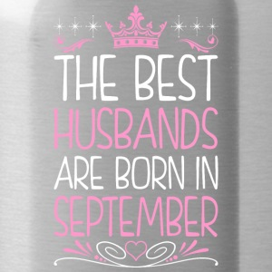 The Best Husbands Are Born In September - Water Bottle