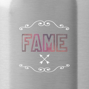 Don't blame, its fame - Water Bottle