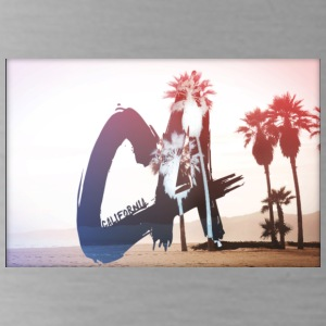 California Palm Tree Design - Water Bottle
