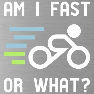 Am I fast, or what? - active wear for cycling - Water Bottle