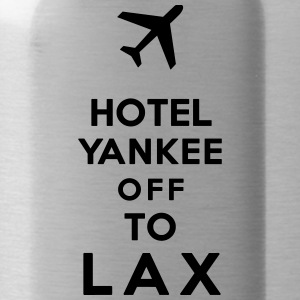 HOTEL TANGO OFF TO LAX - Water Bottle