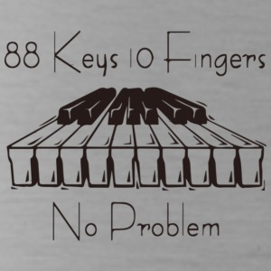 88keys 10fingers - Water Bottle