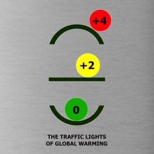 The Traffic Lights of Global Warming - Water Bottle