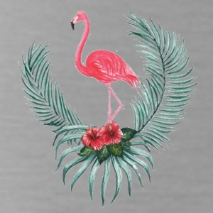 Tropical Flamingo - Water Bottle