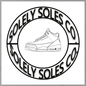 Solely Soles Circle Logo - Water Bottle