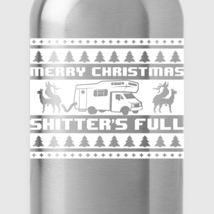 Merry Christmas Shitters - Water Bottle