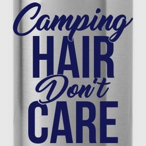 Camping Hair Don't Care for Campers & Outdoors - Water Bottle