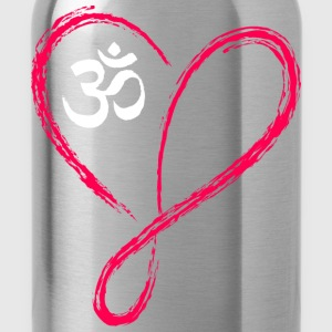 Infinite Heart Om - Water Bottle