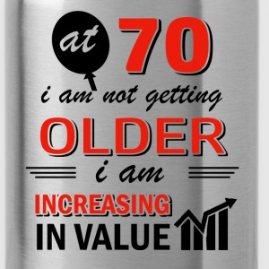 Funny 70 year old gifts - Water Bottle