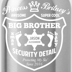 Big Brother Security Detail Shirt - Water Bottle