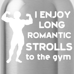 Funny Gym sayings - Water Bottle