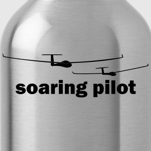 soaring pilot - Water Bottle