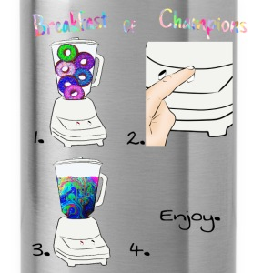 Breakfast of Champions Recipe - Water Bottle