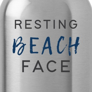 Resting Beach Face - Water Bottle