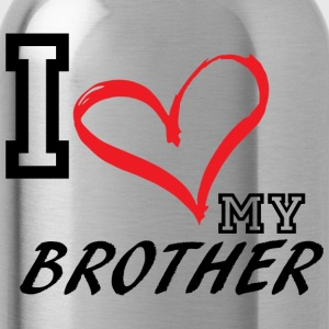 I_LOVE_MY_BROTHER - PLUS SIZE - Water Bottle