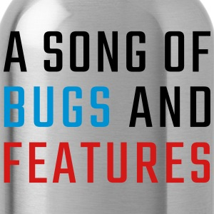 A Song of Bugs and Features - Water Bottle