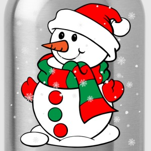Snowman - Water Bottle