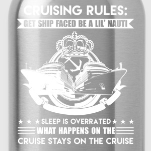 Cruising Rules Shirt - Water Bottle