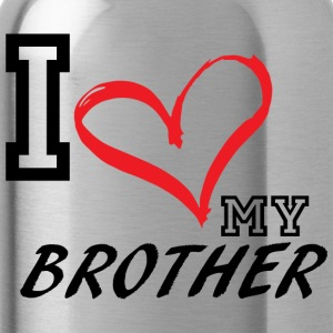I_LOVE_MY_BROTHER - Water Bottle