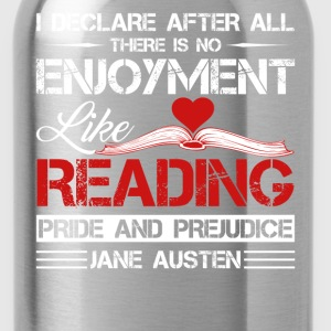 Reading Book Shirts - Water Bottle