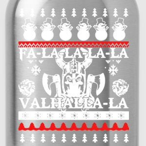 Viking Christmas Tee Shirt - Water Bottle