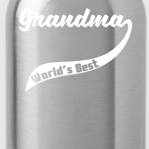 Retro World's Best Grandma - Water Bottle