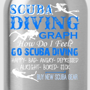 Scuba Diving Shirt - Water Bottle