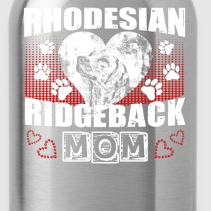 Rhodesian Ridgeback Mom Shirt - Water Bottle