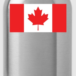 Flag of Canada Cool Canadian Flag - Water Bottle