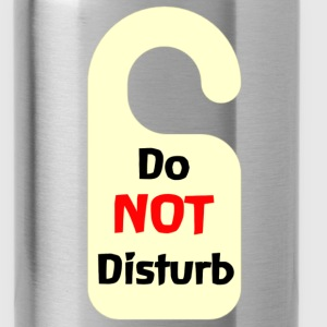 Do Not Disturb Tag - Water Bottle