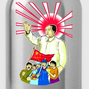 Mao Waves To His Supporters - Water Bottle