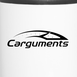 CARGUMENTS Black and White - Travel Mug