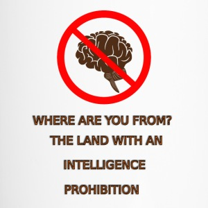 Intelligence prohibition - Travel Mug