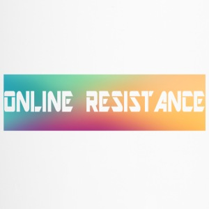 Online Resistance T-Shirts Long Logo - Travel Mug