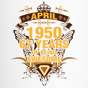 April 1950 67 Years of Being Awesome - Travel Mug