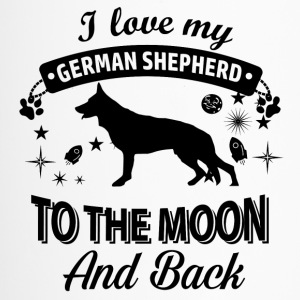 Love my German Shepherd - Travel Mug