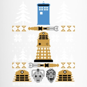 Doctor Who Ugly Sweater T-Shirt - Travel Mug