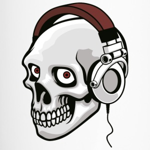 skull-headphones-music-disko-mc - Travel Mug